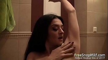Hot MILF hairy armpit show pornhub video
