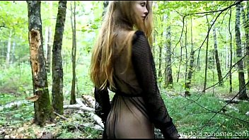 Naked russian lady - Lady in black web