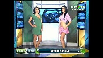 Nude news at 10 - Goluri si goale ep 8 gina si roxy romania naked news