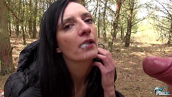 Her first cumshot Stepsister fucks brother in the woods in all ways