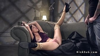 Ex wife rough anal fucked in bondage