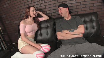 Redhead porn pic Trueamateurmodels-handjob-video-ray-and-leigh