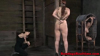 Tied up bdsm fetish Bella Rossi whipped