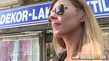 Lesbian seduces straight girl in public - Massage Gone Wild at BoxTruckSex