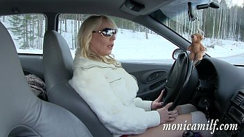 Norwegian pussy videos - Monicamilf s car breakdown in the norwegian winter