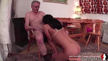 Young slut & old guy: piss play, food play & hot fucking! AMATEURCOMMUNITY.XXX
