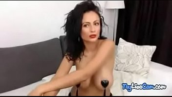Camwhore pleasuring herself on her adult camera at TryLiveCam.com