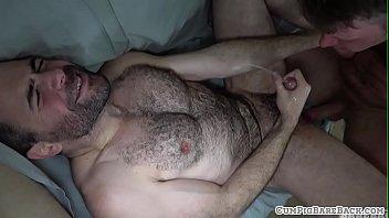 Bear hairy gay - Hairy bear anally slammed bareback