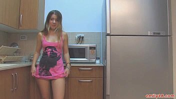 Flickr badboy 18 s photos tagged with upskirt Teen in sneakers in kitchen
