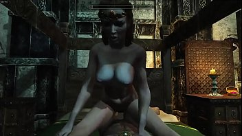 Skyrim Jarl Elisif forgets Toryyg and fucks one of her subjects