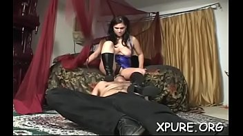 Dominas mistreat old pervert