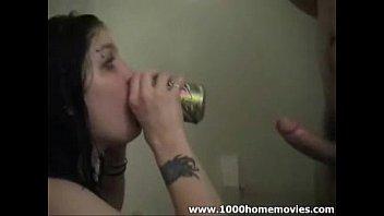 deepthroat amateur blowjob
