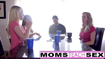 MomsTeachSex - Hot Mom & Teen Friends Orgy Fuck With Neighbor pornhub video