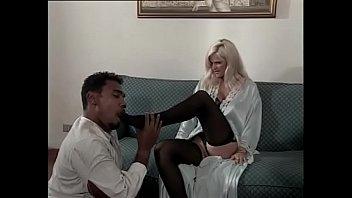 Amazing blonde wants a big black cock inside