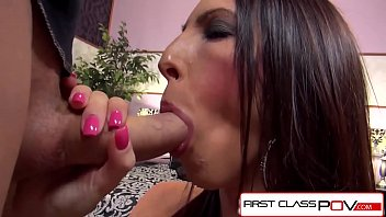 FirstClassPOV - Dava Foxx take a monster cock in her throat, big booty