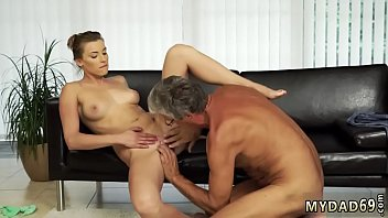 Teen teasing with cotton panties Sex with her boyplayfellow´s father
