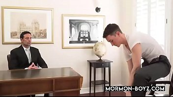 Muscular Daddy Breeds Young Twink In Church - MORMON-BOYZ.COM