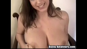 Busty eldes Busty sara with a huge dildo