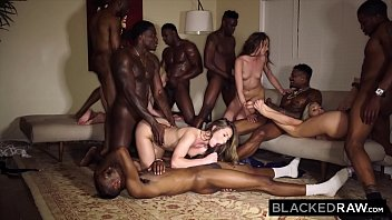 BLACKEDRAW Four College Girls In INSANE BBC Gangbang porno izle