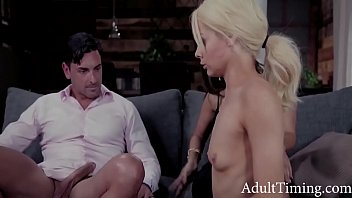 Teen Blonde Punished By Rich MILF And Her Husband - Reena Sky, Elsa Jean
