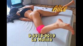 CANELITA ALICE LA MOLINA  SOLO SALIDAS   9-5913-9019  MULTIORGASMICA