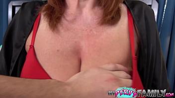 Big Tit Redhead Milf Teaches Stepson - Andi James -
