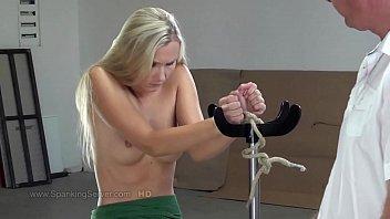 SpankingServer bare back whipping2405 thumbnail