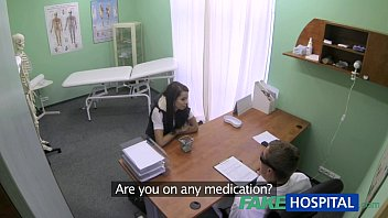 FakeHospital Slim skinny young student gets the doctors creampie