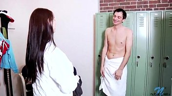 amateur gets naked in wrong room