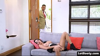 Big ass busty brunette Victoria June gets doggystyle fucked