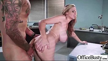 Sexy Girl (julia ann) With Big Juggs Love Get Banged Hard In Office movie-17