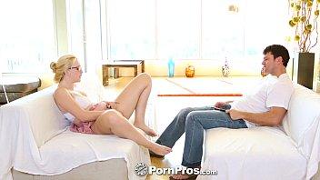 PornPros - Samantha Rone and Preston get off with dual masturbation