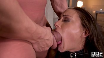 Cassy garden of pleasure Spanks, fetish double dong penetration choking makes cassie del isla cum