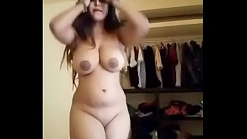 Bikini and bra Arab girl with big tits and ass