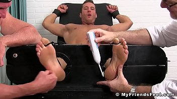 Restrained and tickled