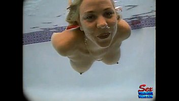 Underwater breasts Sandy knight - erotic mermaid