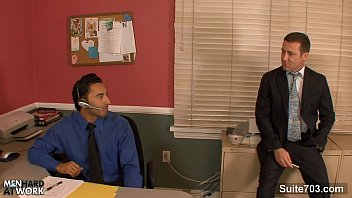 Fuck gay office - Amazing gay fucking butts in the office