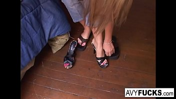 Busty Gia Paloma and James Deen stop by Avy Scotts house for a hard lesson in hard fucking