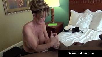 Cock between leg Milf secretary deauxma gets banged by bosss big black cock