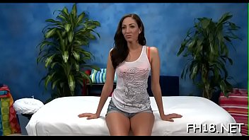 Oil brunette nude - Nude angelica saige behaves like whore