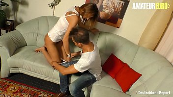 AMATEUR EURO - German Mature Gets Picked Up And Hard Fucked - Liss Longlegs