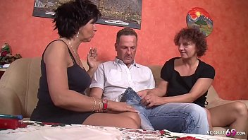 ▶▶ Two German Mature Seduce Neighbor to Fuck in Threesome ◀◀