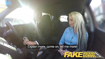 Seasonal effect on sexual drive Fake driving school busty blonde examiners sexual skills secures her job