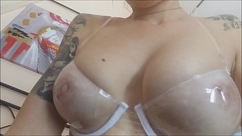 Latex bali bra My rubbers passion makes me wet even a strage plexiglass bra that...