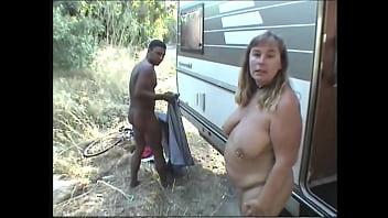 Suzi enjoying casual roadside sex with a stranger
