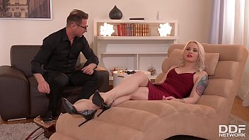 Whore house videos of people fucking Client lola taylor gagged, blindfolded fucked balls deep by therapist