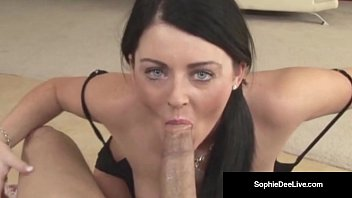 Welsh Hottie Sophie Dee is a Cock Sucking Kitty Cat In Heat!