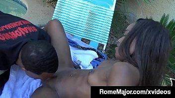 Black Mambo Rome Major Wrecks Young Chocolate Ashley Pink!