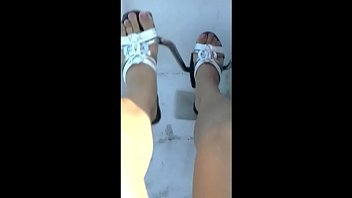 Mother's Feet in the Pedalo Boat (Fetish Obsession)