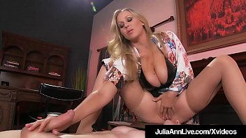 Boy Toy Gets Moterboated By Busty Milf Julia Ann's Pussy!
